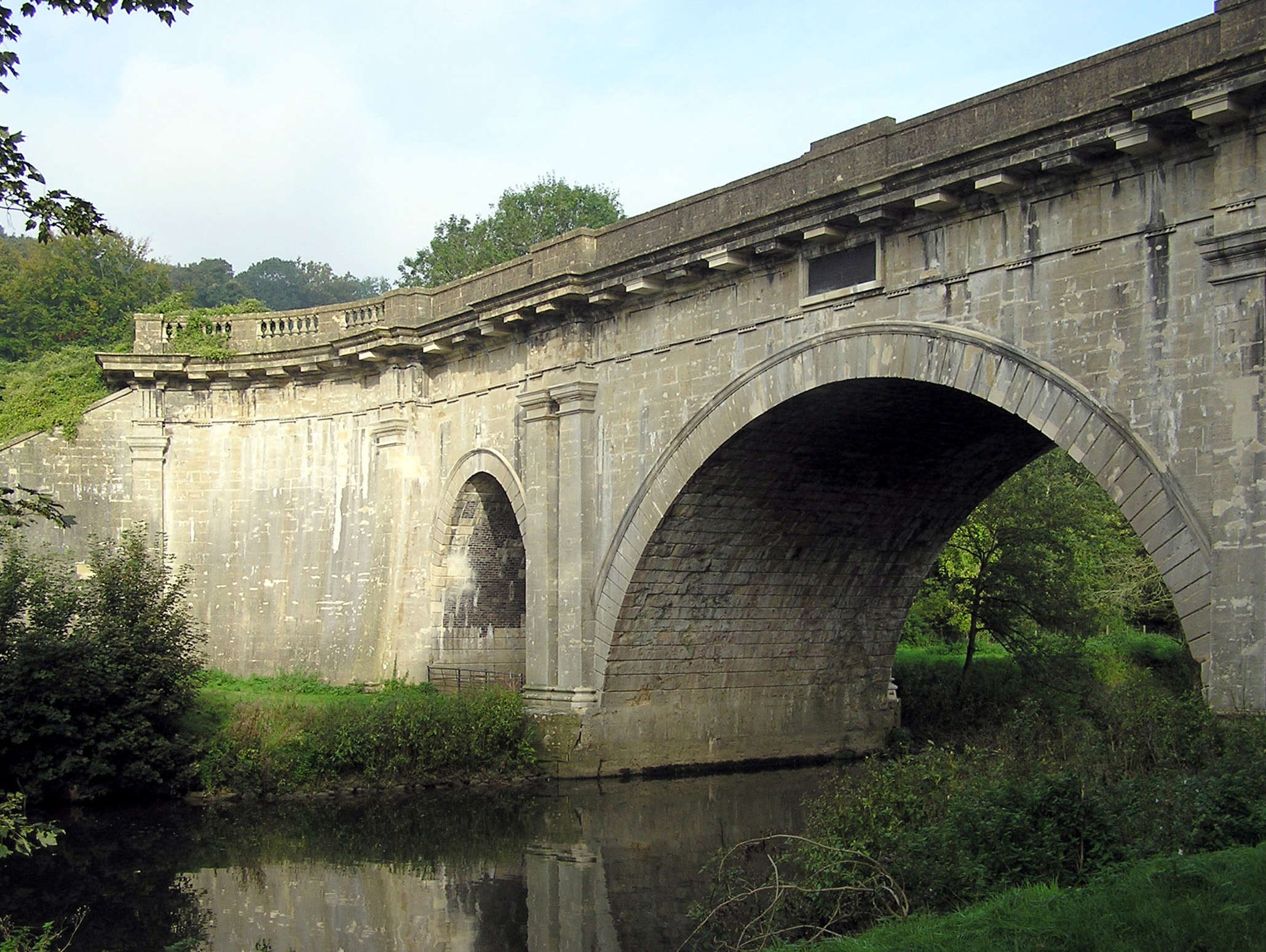 Reasons to wend your way in Wiltshire, England - Dundas Aqueduct