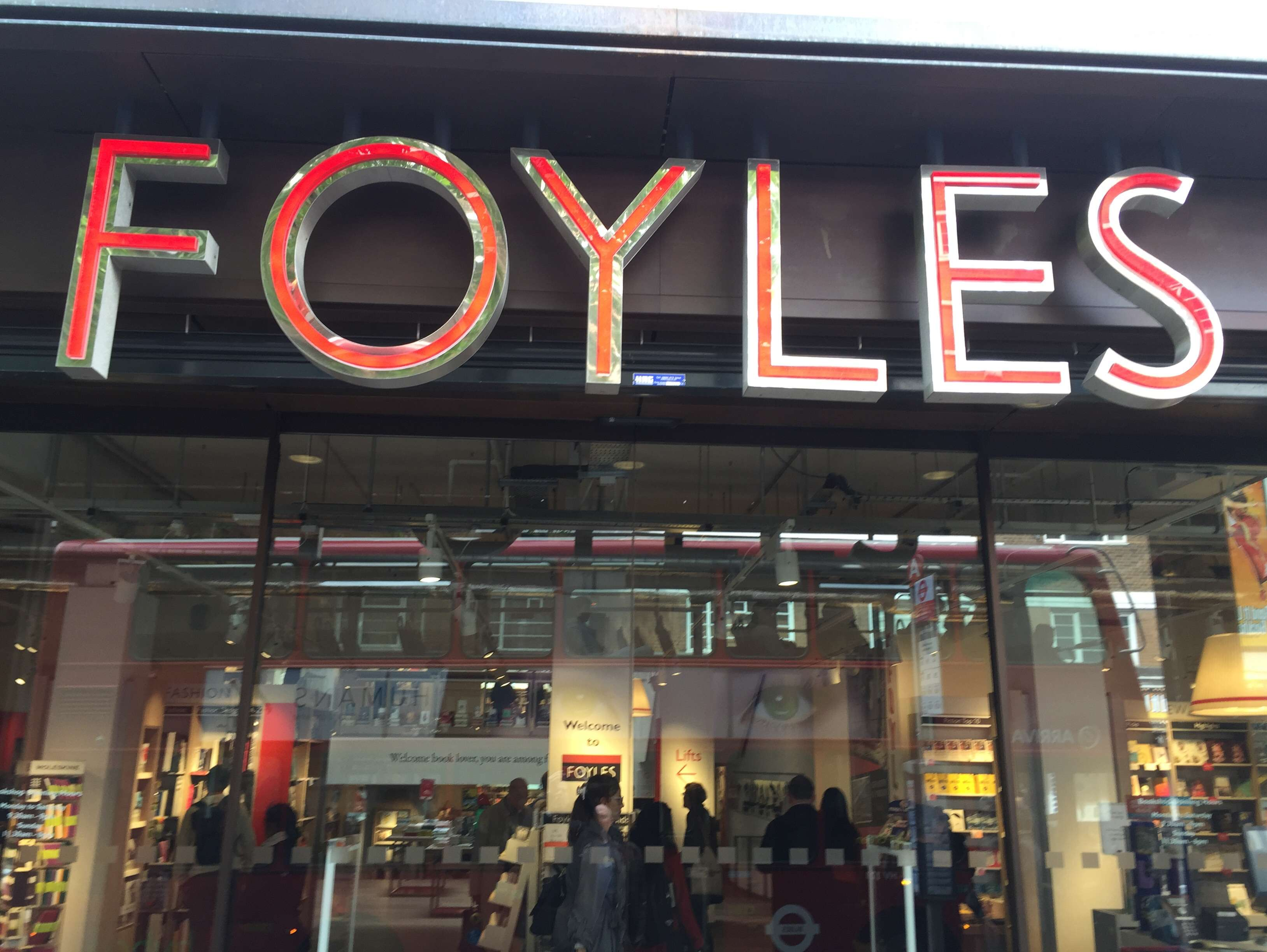 Reasons to live it large in London, England. - Foyles bookshop