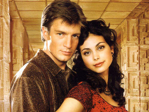 Reasons we still love Firefly and aren't over it's cancellation - The possibility of some really hot Inara-on-Captain Mal action