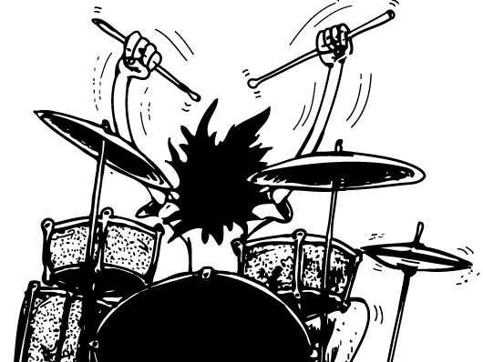 to play drums
