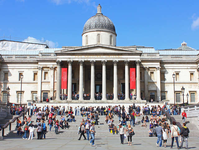 Reasons to live it large in London, England. - The National Gallery
