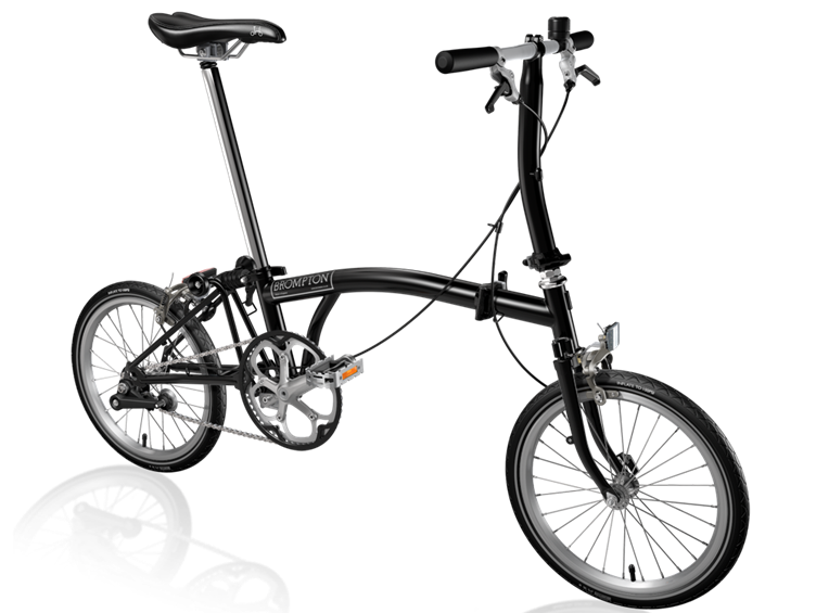 Reasons to cycle to to work - Brompton porn