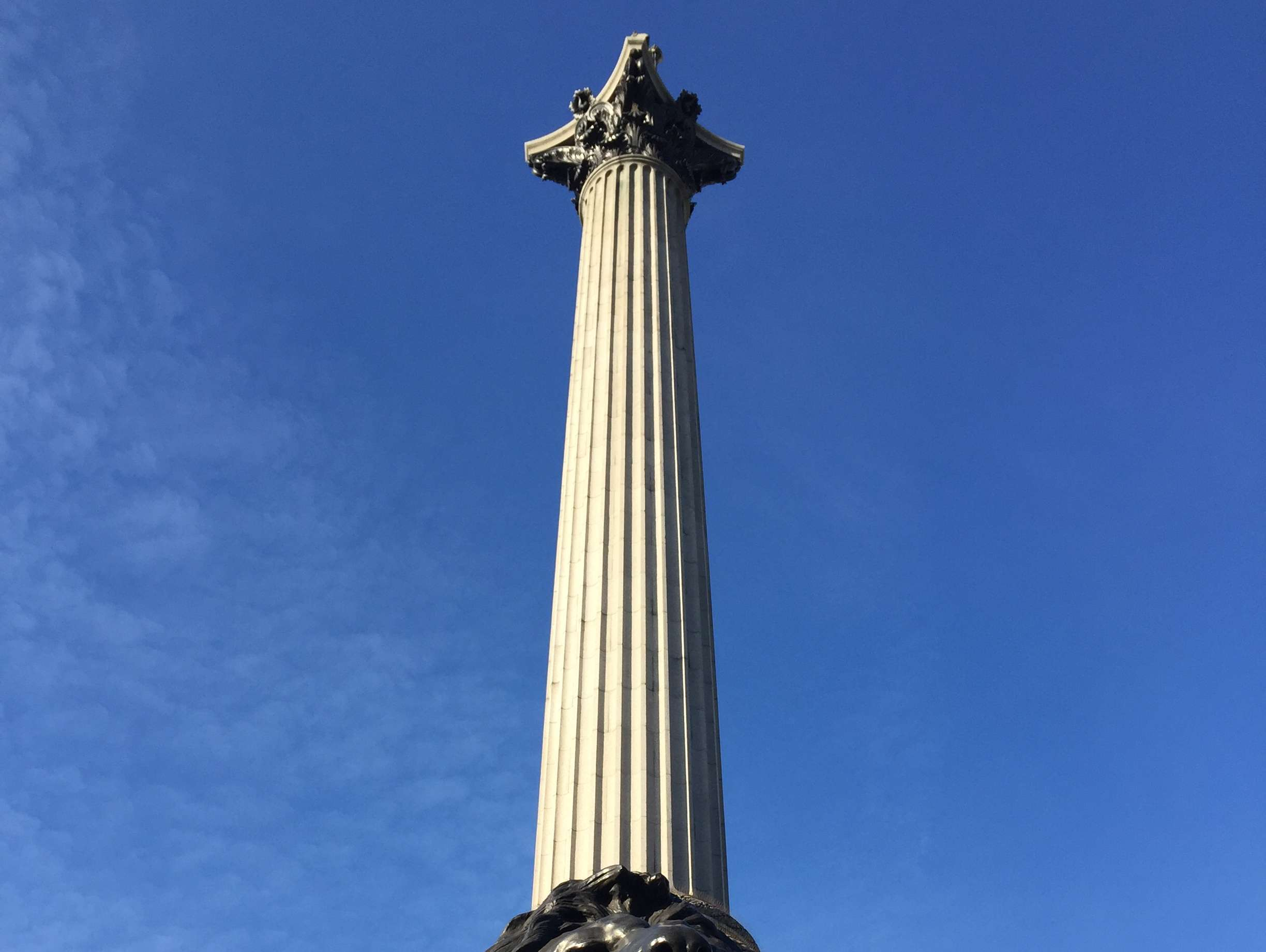 Reasons to live it large in London, England. - Nelsons Column