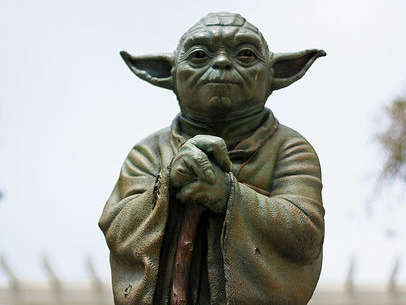 Reasons to visit San Francisco - Yoda!!!