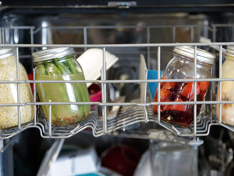Reasons I don't have to do the dishes right now - The dishwasher is full from last night's dishes