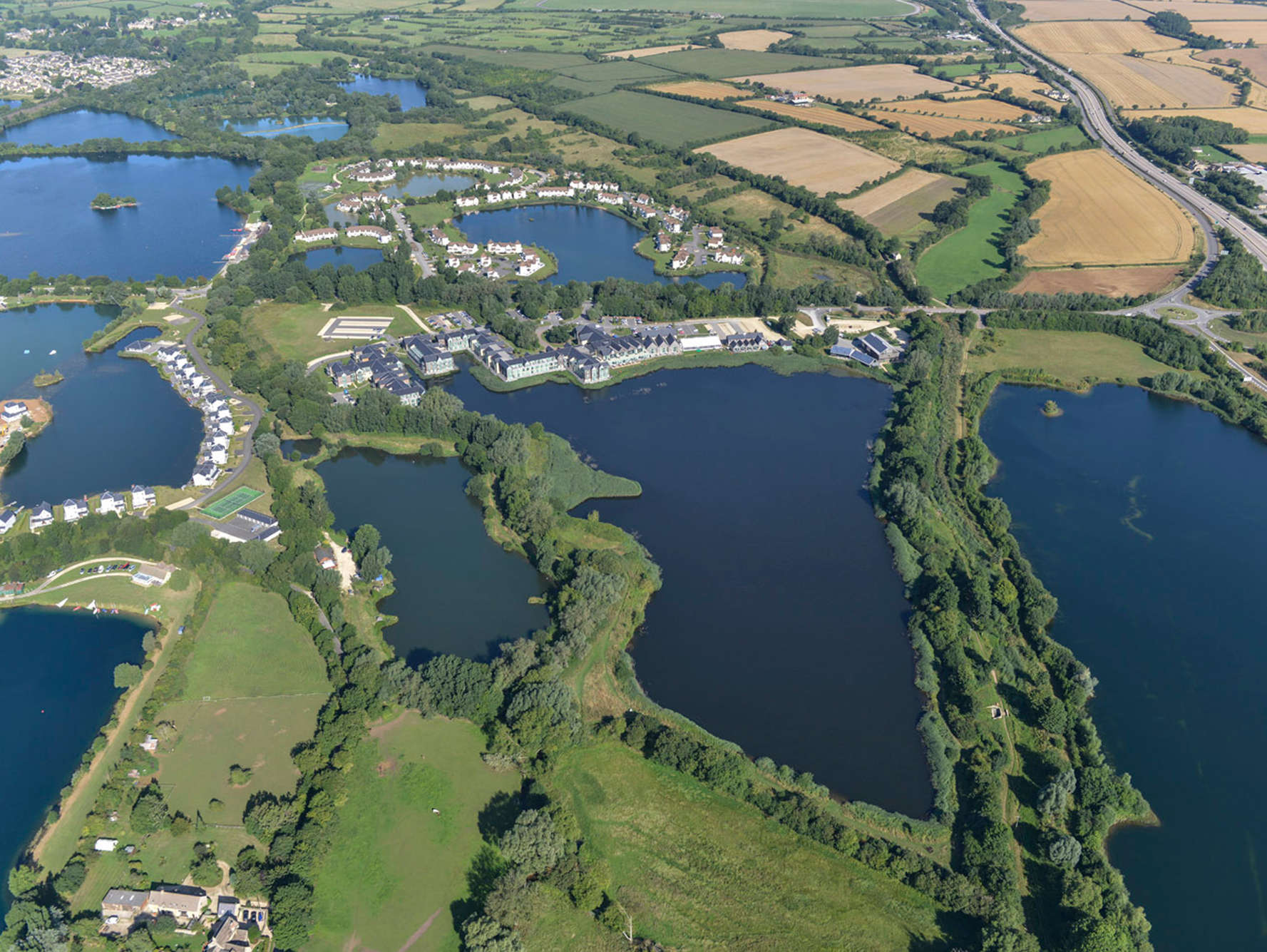Reasons to wend your way in Wiltshire, England - Cotswold Water Park