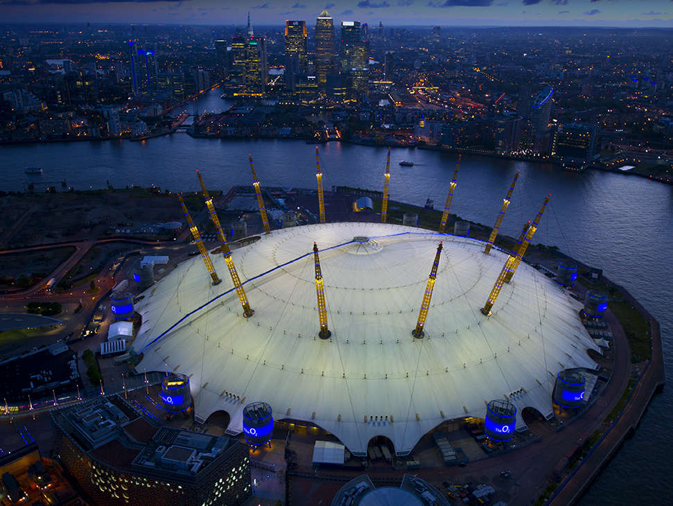 Reasons to live it large in London, England. - The O2