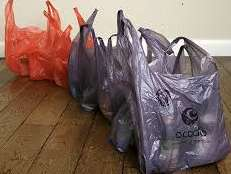 Reasons to use Ocado.com for weekly food shop - They charge for plastic bags, but buy them back if you return them