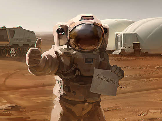 Reasons why 'The Martian' is set to be an epic movie - A settlement on Mars is very possible