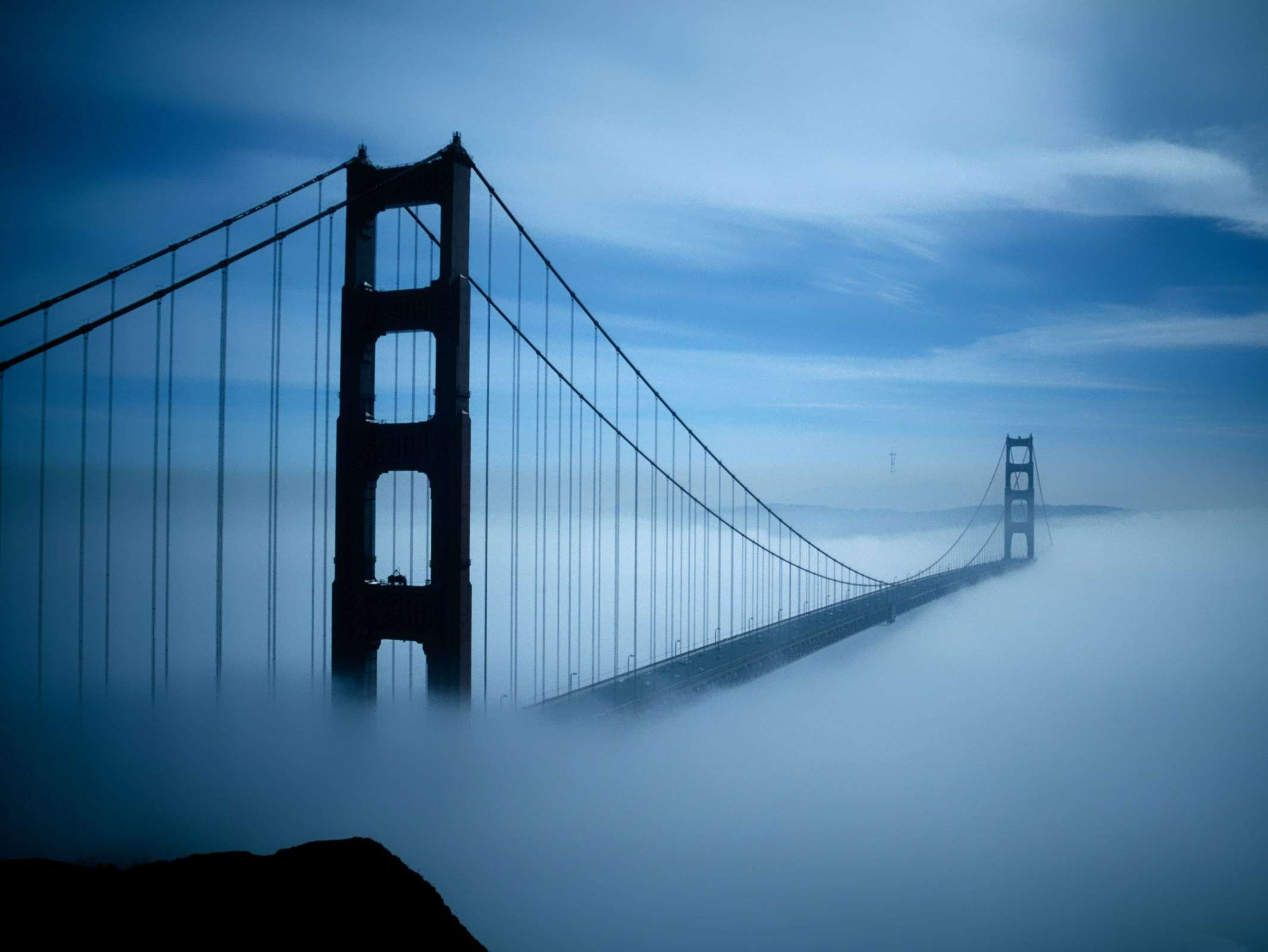 Reasons to visit San Francisco - The fog!