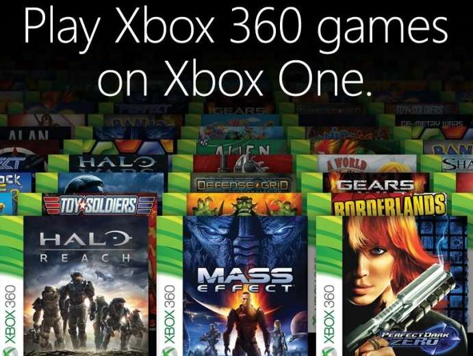 Reasons to buy an XBox One - Backward compatibility