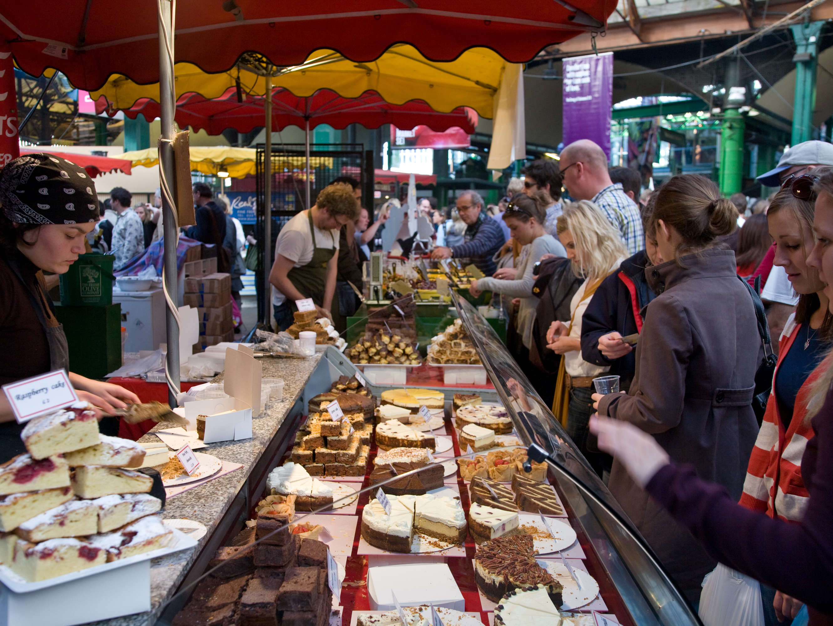 Reasons to live it large in London, England. - Borough Market