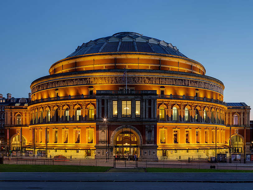 Reasons to live it large in London, England. - The Royal Albert Hall