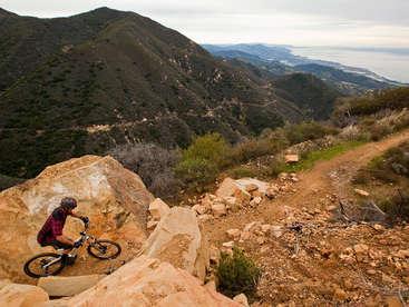 Reasons to Mountain Bike in the USA - Romero Loop - Santa Barbara, CA