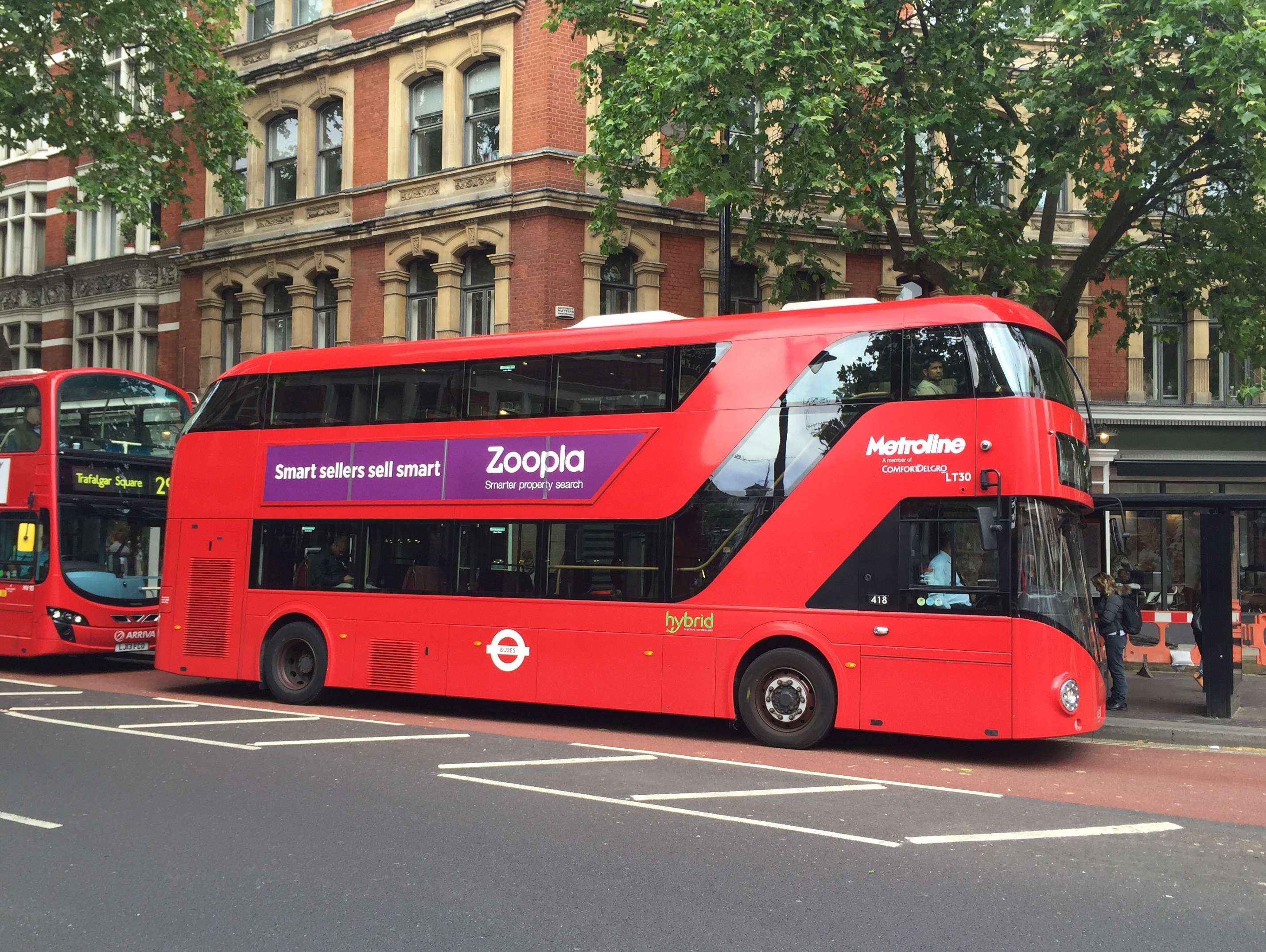 Reasons to live it large in London, England. - Famous Red London Buses!