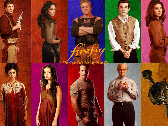 Reasons we still love Firefly and aren't over it's cancellation - The characters