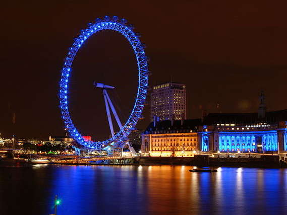 Reasons to live it large in London, England. - London Eye