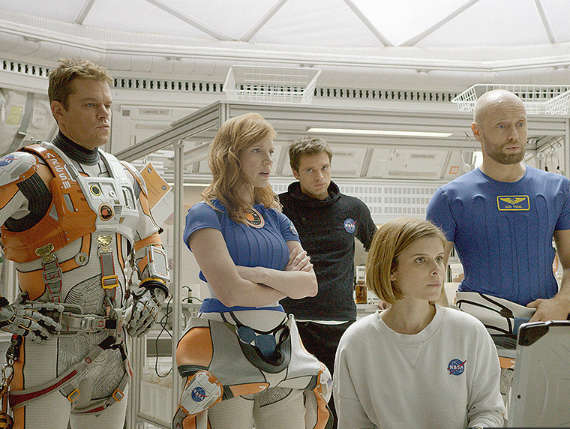 Reasons why 'The Martian' is set to be an epic movie - The cast is wonderfully diverse