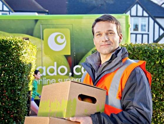 Reasons to use Ocado.com for weekly food shop - The drivers are usually cheerful