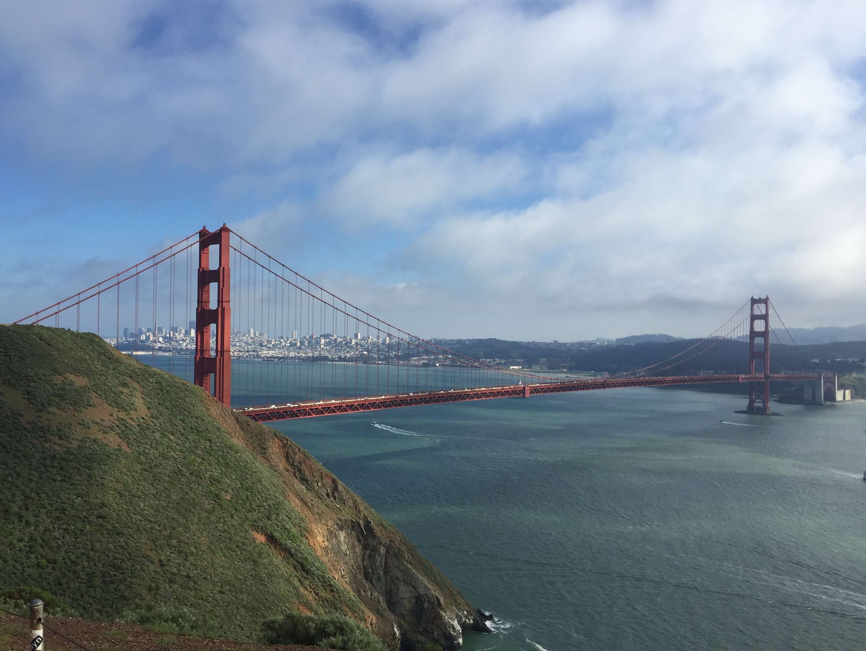 Reasons to visit San Francisco - The Golden Gate Bridge