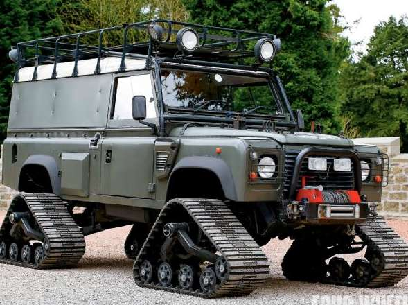 Reasons to own a Land Rover - There is nothing more instantly recognisable than a Landy! Especially on the kerb..
