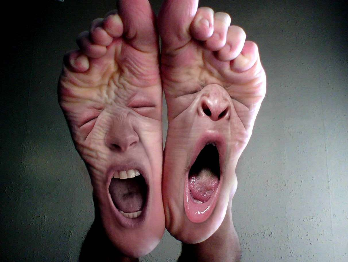 Reasons I don't have to do the dishes right now - My feet hurt