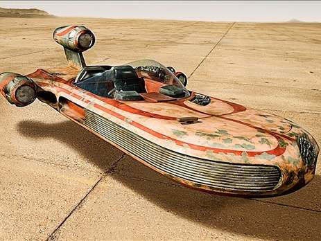 Reasons why Luke Skywalker's landspeeder is so awesome.