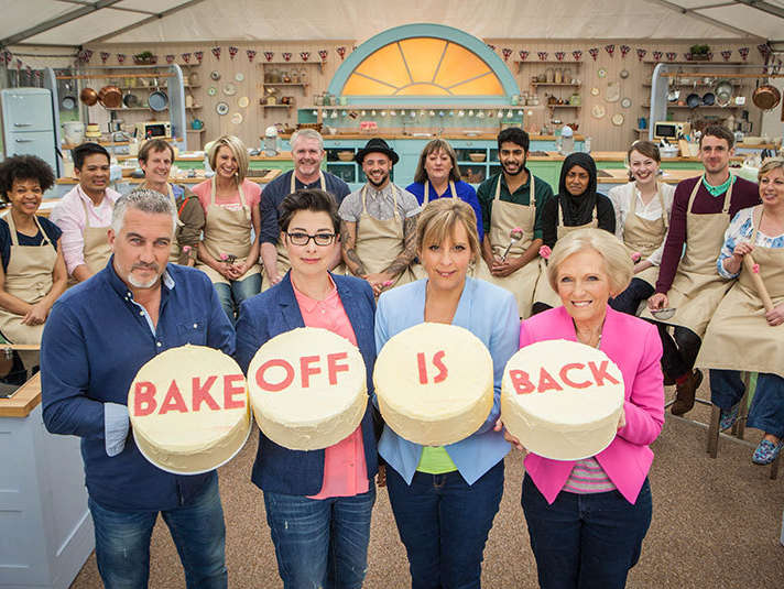 to watch the Great British Bakeoff