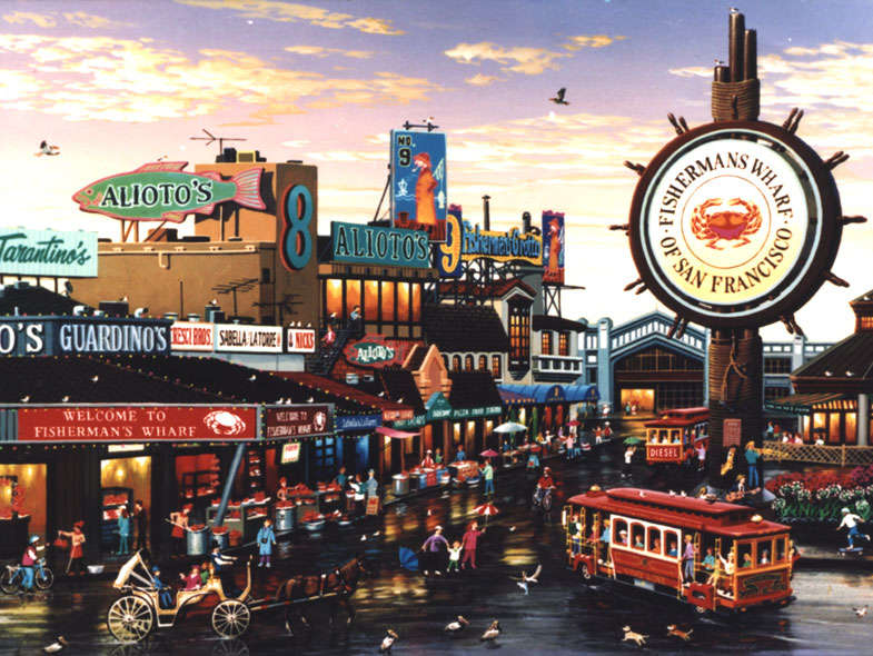 Reasons to visit San Francisco - Fisherman's Wharf