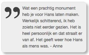 Reactie Hans