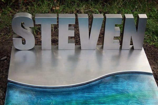 grafsteen van RVS