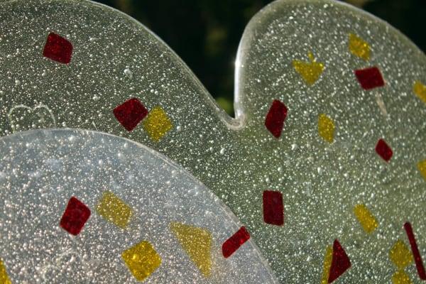 eigentijdse grafsteen glas