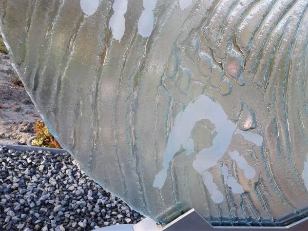 glazen grafsteen