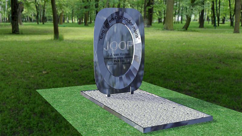 3d ontwerp gedenkteken Joop