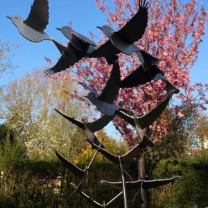 dierenbeeld vogelbeeld puttertjes
