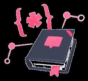 Small GraphQL schema dictionary illustration