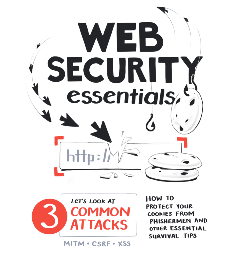 Web security essentials - Let's look at three common attacks