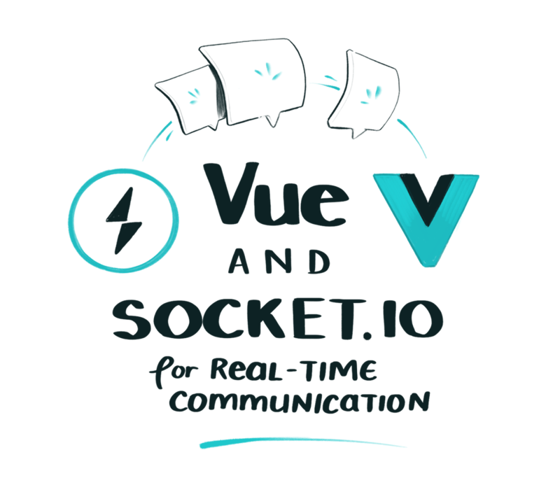 Vue and socket.io for real-time communication