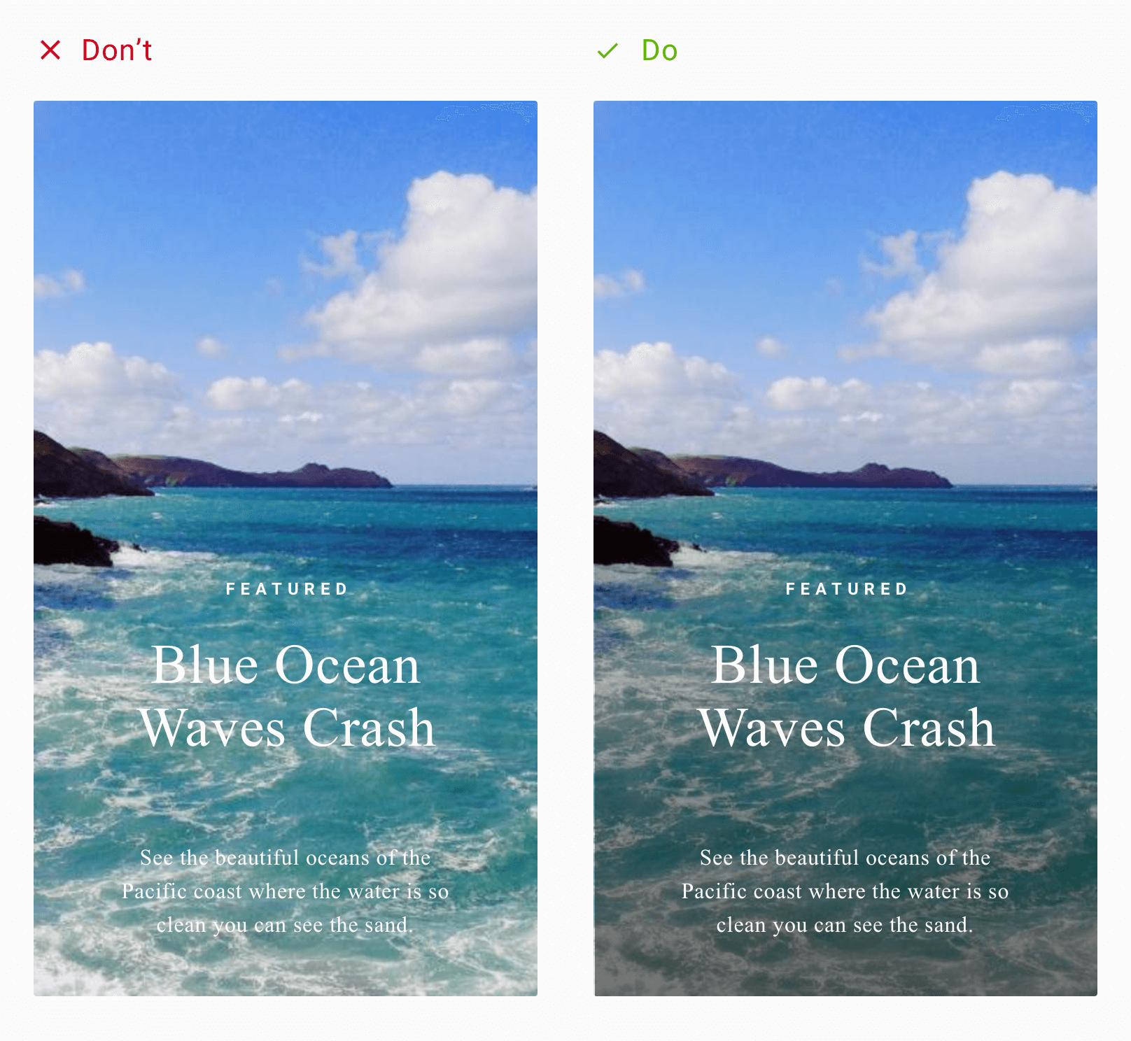 Overlay Image Example