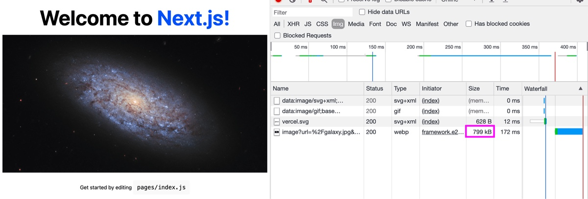 Using the Image Component in a Next.js app