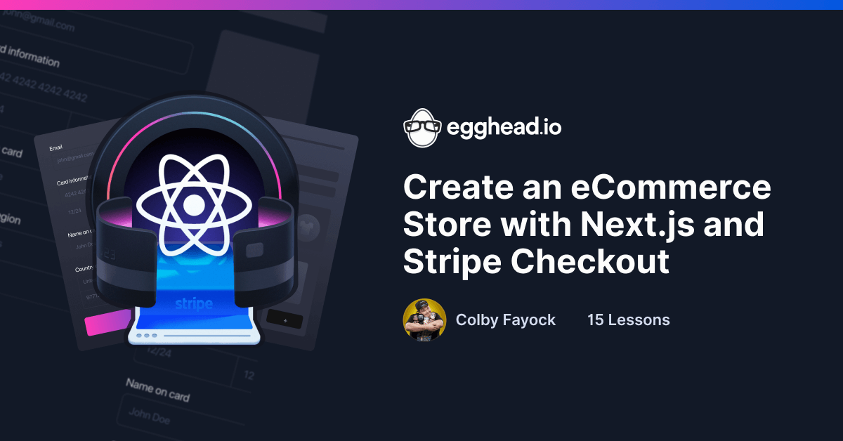 Create an eCommerce Store with Next.js and Stripe Checkout