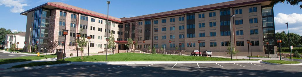Yetter Hall is a brand-new student living building on the Colorado Christian University campus.