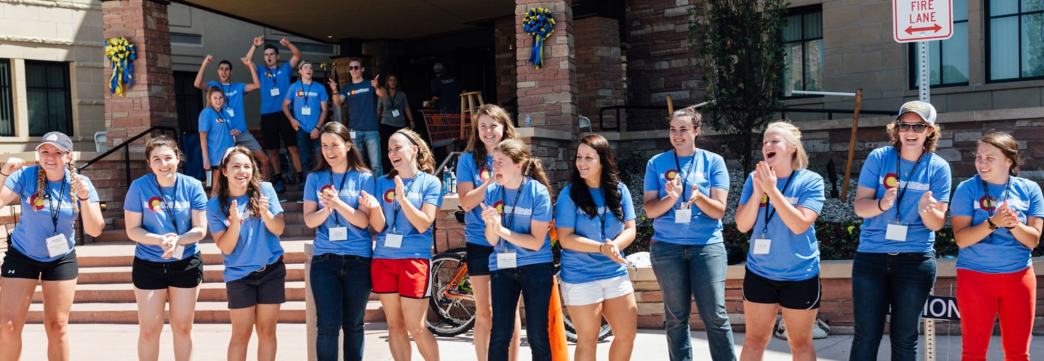 Student move-in-day is taking place at Colorado Christian University.