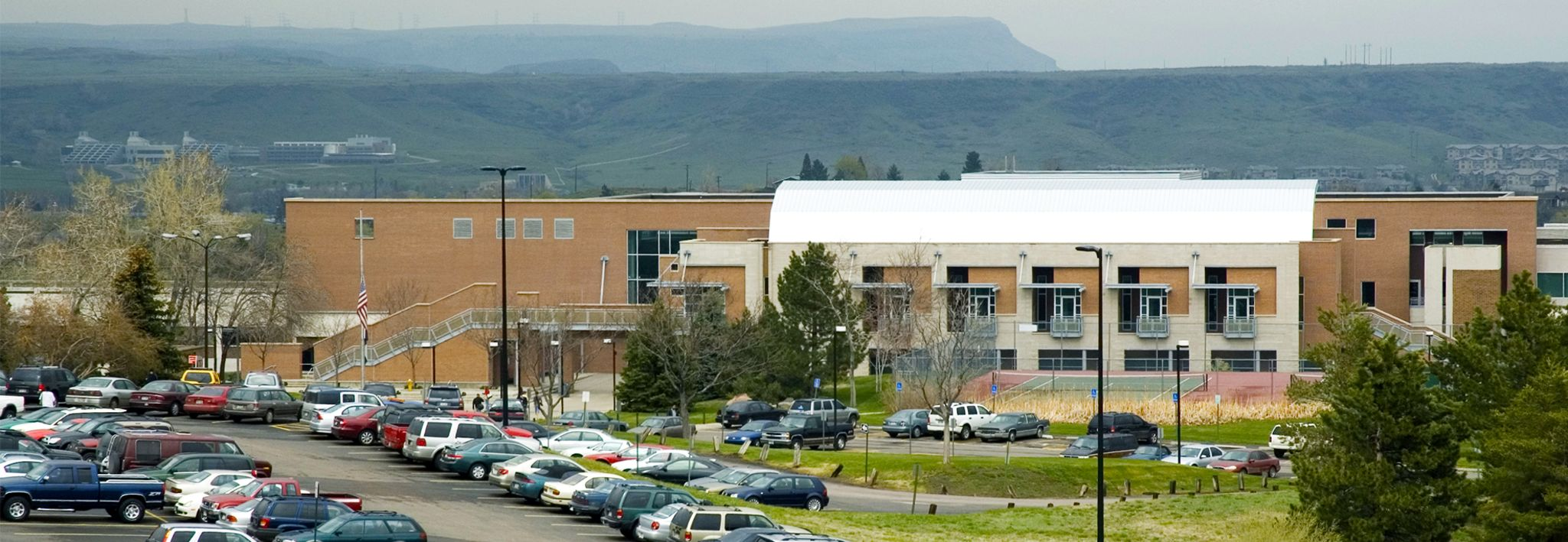Picture of Red Rocks Community College East wing.