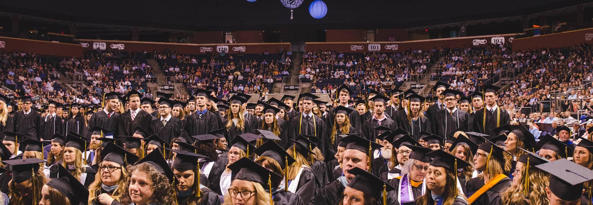 Colorado Christian University commencement ceremony.