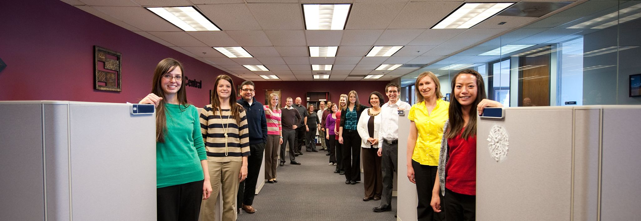 Picture of CCU employees.