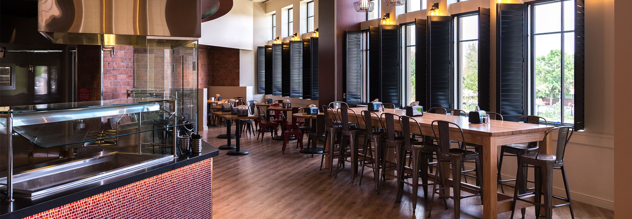 The Dining Commons is located on the Colorado Christian University campus.