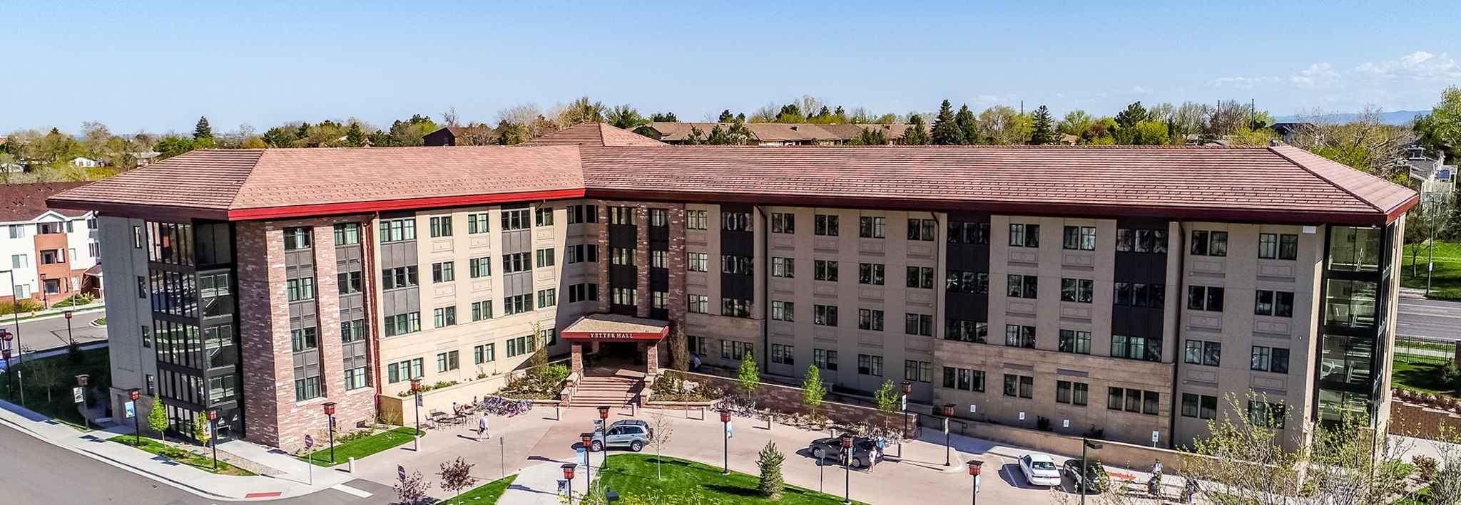 Yetter Hall is a new building on the CCU campus in Lakewood.