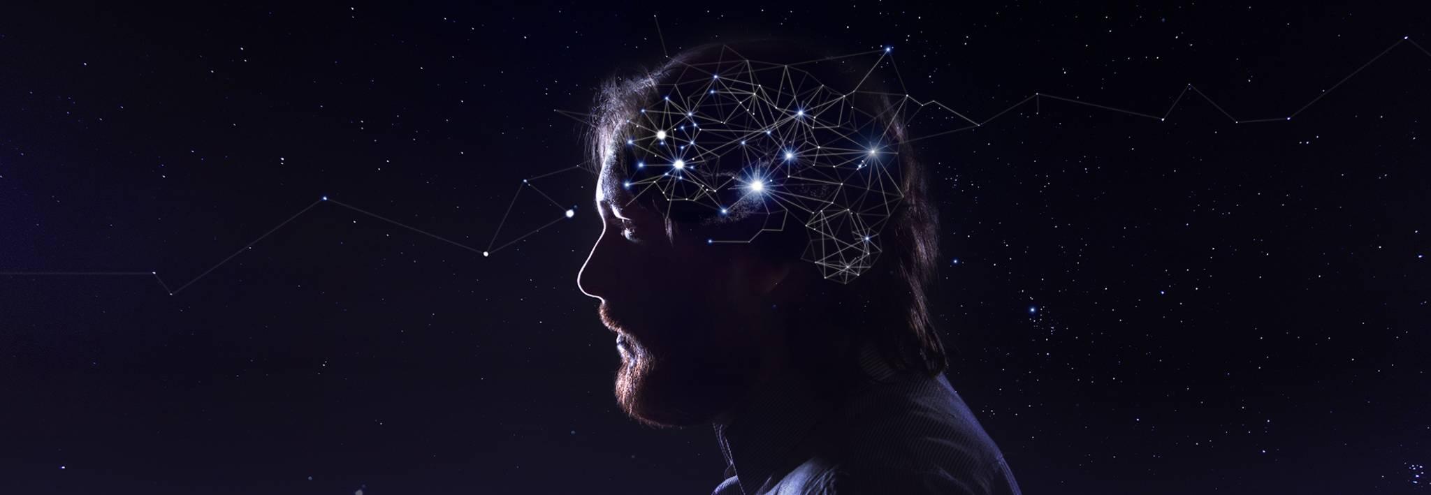 Stars and the human brain.