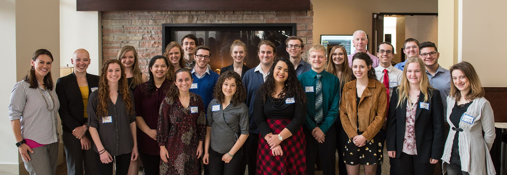 students and faculty at the annual research conference for undergraduates